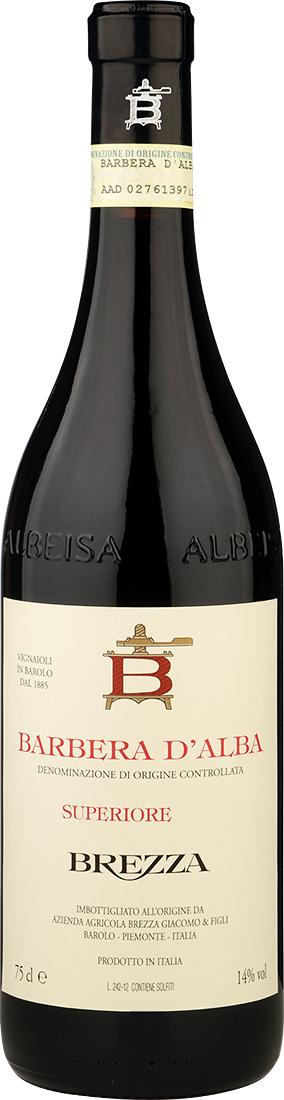 Barbera d'Alba DOC. Brezza. Superiore