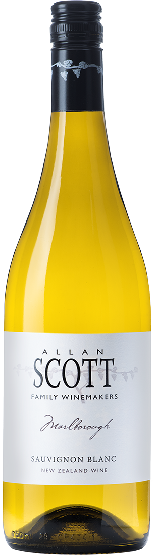 Marlborough. Allan Scott. Sauvignon Blanc dry white