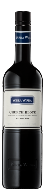 McLaren Vale. Wirra Wirra. Church Block red dry
