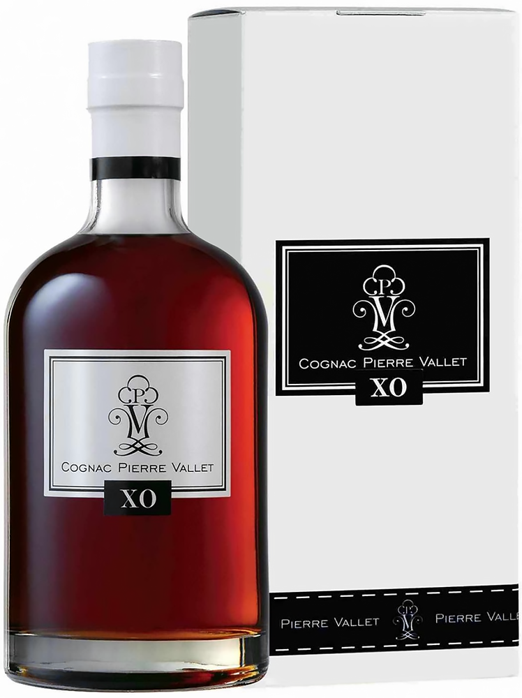 Cognac Pierre Vallet X.O. in gift box