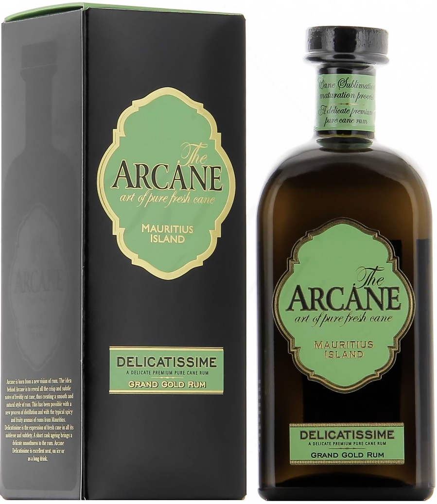 Arcane Delicatissime Grand Gold Rum